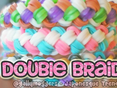 Rainbow Loom Tutorial: Double Braid Bracelet with One Loom