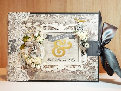 Scrapbook Wedding Album