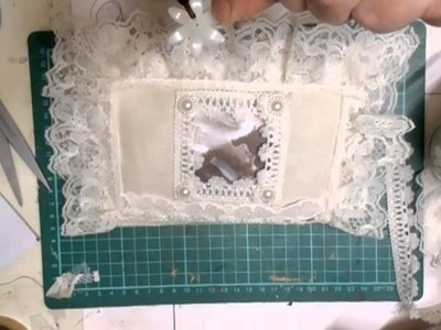 Shabby Chic Lace Book Tutorial, Part 2 - jennings644
