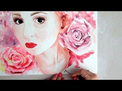 Speed Painting : Talia (In loving memory)