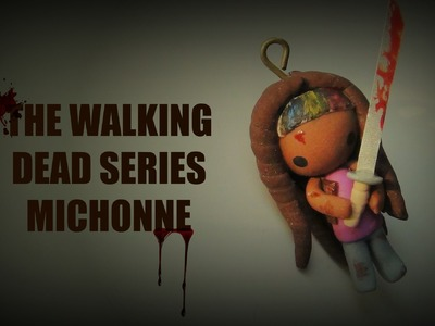 The Walking Dead Series - Michonne - Polymer Clay Tutorial