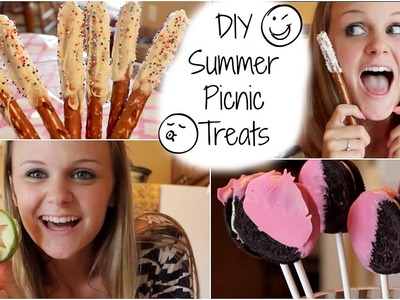 5 DIY Summer Picnic Treats ❋