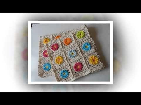 Crochet pattern for hair snood