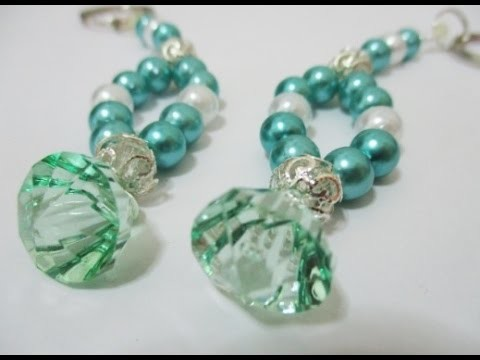 DIY : #90 Pearls & Beads Keychain ♥