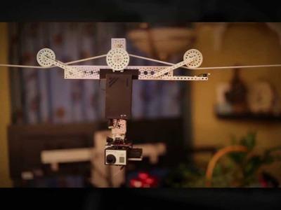 DIY Actobotics Slow Motion Time Lapse Cable Cam