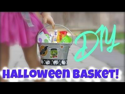 DIY American Girl Doll Halloween Bucket!