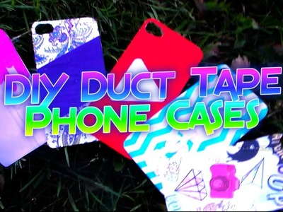 DIY Duct Tape Phone Case