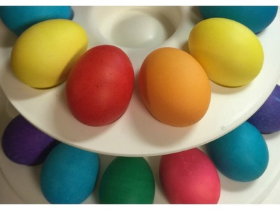 DIY Easy Vibrant Easter Eggs!