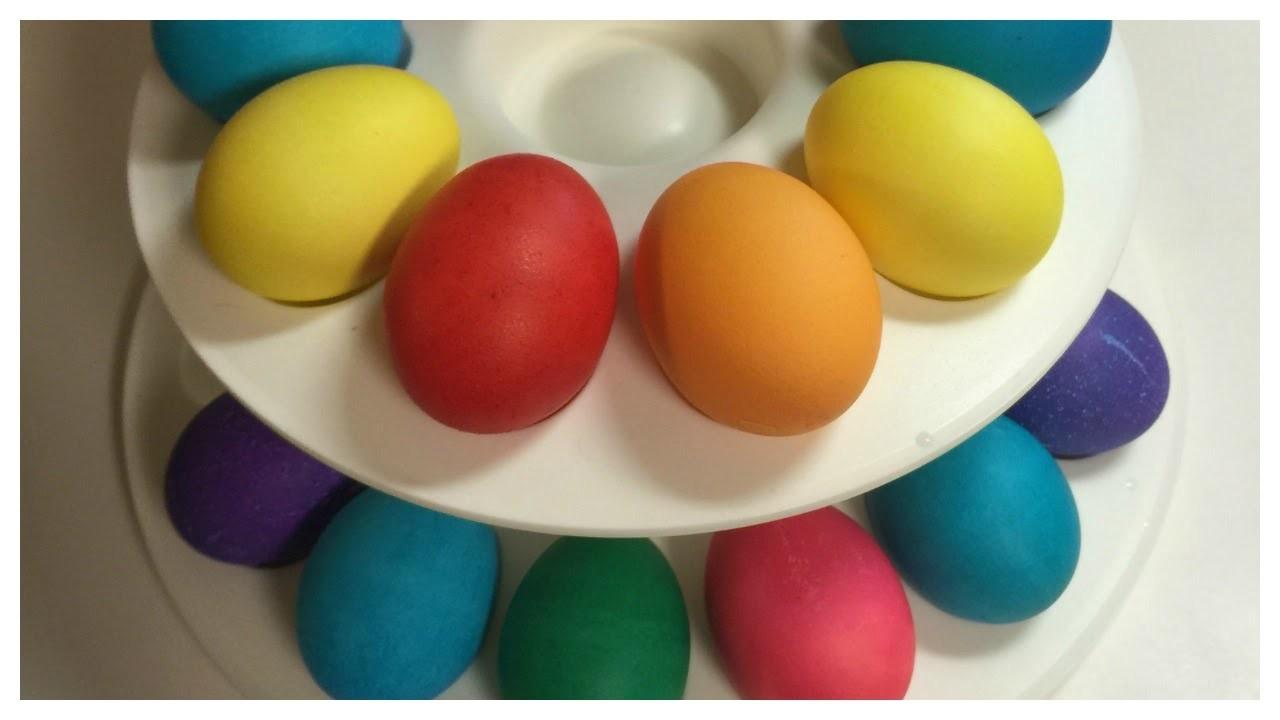 DIY Easy Vibrant Easter Eggs!