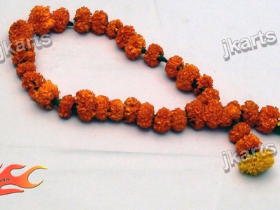 DIY Flower Garland Making  - JK Arts 175