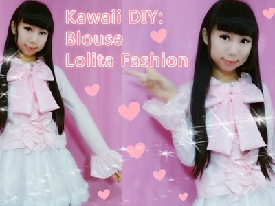 DIY: How to Make a Blouse for Beginners - Sweet Lolita Fashion