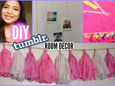 DIY Inexpensive Tumblr Room Decor !