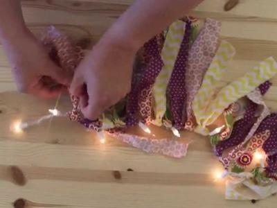 DIY Lighting Ideas | Garland Craft | Apostrophe S | Tea Time & To the Beach