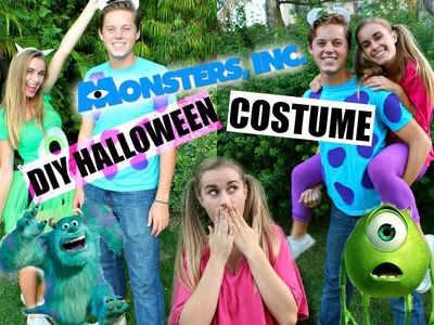 DIY Monsters, Inc. Inspired Halloween Costumes!