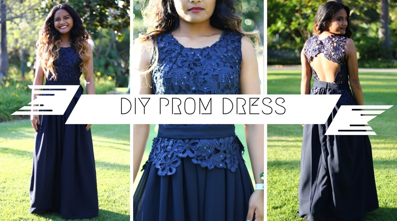 DIY Prom Dress 2015