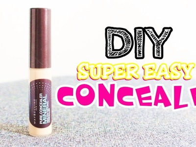 DIY Quick and Easy Concealer! (2 Products Only!) | DIYwithKIM