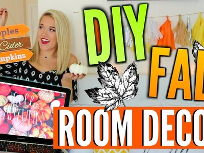 Fall DIY Room Decor + GIVEAWAY! | Cicily Boone