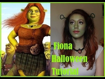 Fiona Halloween Tutorial + DIY Ogre ears |Bondbeautyful