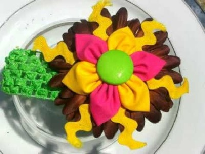 Hair flower clips by Carbonaro's Boutique