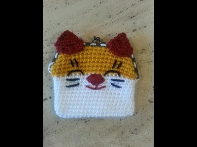 Helenmay Crochet Lucky Cat Coin Purse DIY Tutorial