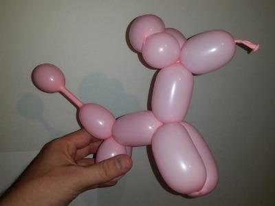 How to make a Balloon puppy dog!! DIY your own balloon dog.