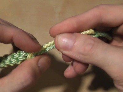 How to make a box knot (part 2)