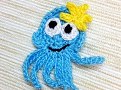 How To Make A Crocheted Octopus Applique - DIY Crafts Tutorial - Guidecentral