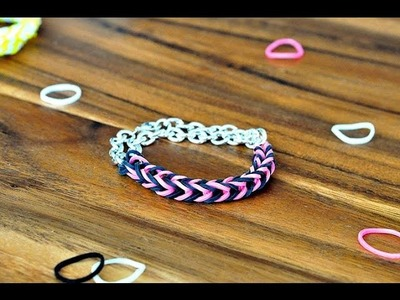 How to Make a Fishtail Rainbow Loom Bracelet Step by Step - Rainbow Loom Bracelet