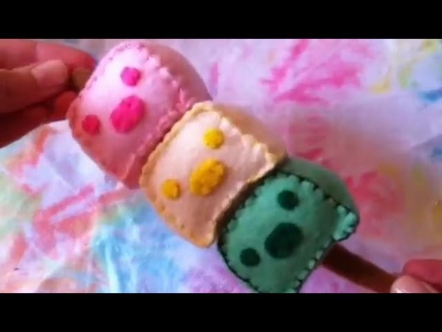 How to Make a Kawaii MonoKuro Boo Dango Plushie