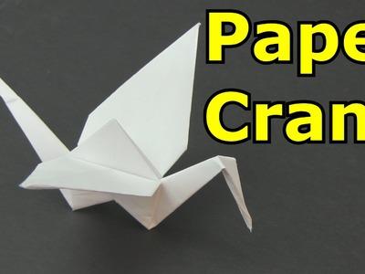 How to Make a Paper Crane -Origami-
