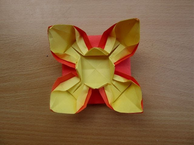 How to Make a Paper Flower Easter Special - Easy Tutorials