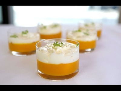 How to make a simple mango dessert - By Alessandro Pavoni and Breville Australia