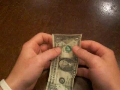 How to: Make a Spaceship Out Of a Dollar Bill