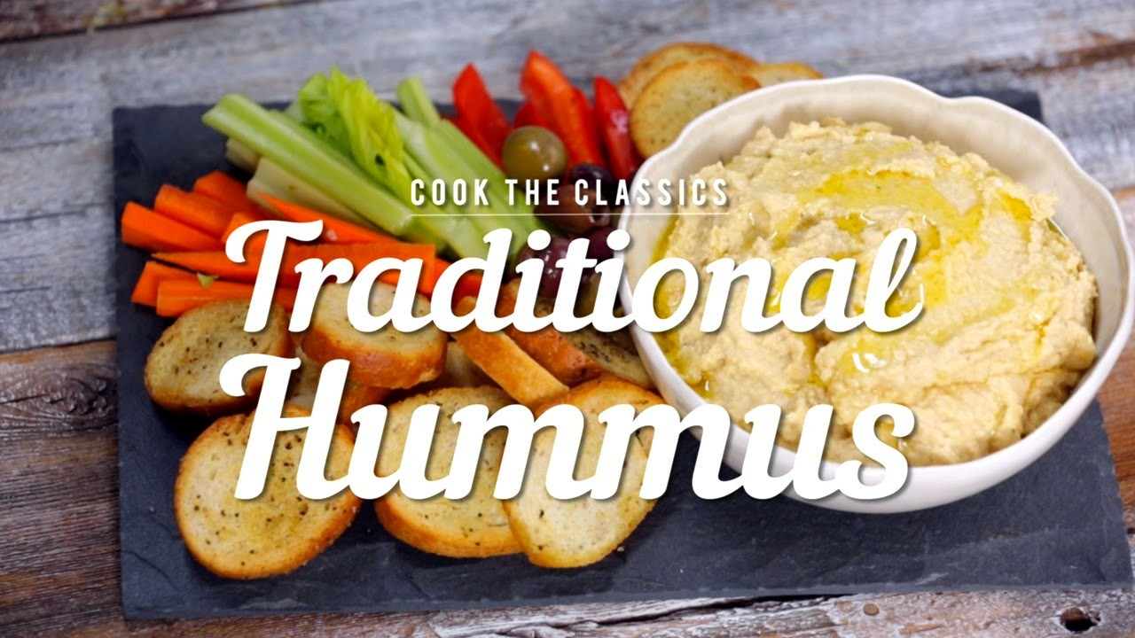 How to Make Traditional Hummus | Cook the Classics | MyRecipes