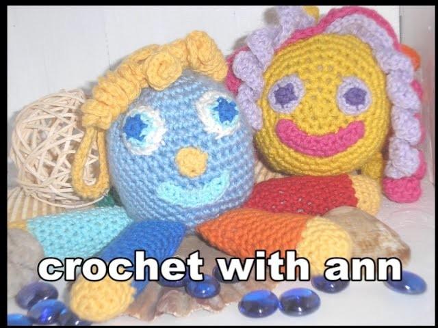 Learning how to chrochet Mr Octobus ( Amigurumi )