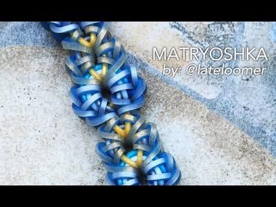 MATRYOSHKA Hook Only bracelet tutorial