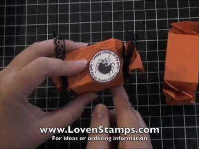 Part 2 - Candy Wrapper Tricks for Treats: Meg's Stamping 101
