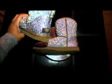 Pearl and Crystal Ugg Boot Transformation