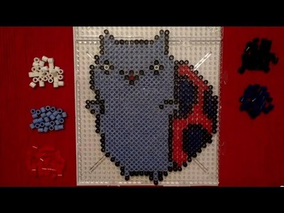 Perler Bead Tutorial: Catbug