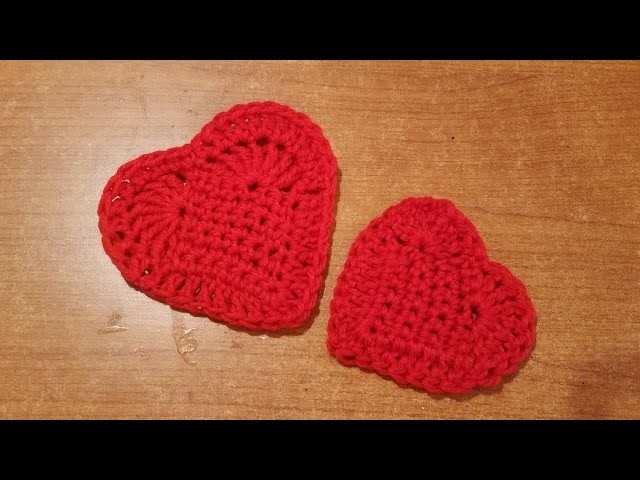 Piastrella cuore all'uncinetto facilissima - crochet tile heart - azulejo corazon crochet