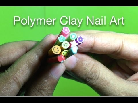 Polymer Clay Nail Art