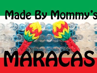 Rainbow Loom Charms: Maracas for Cinco de Mayo