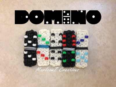 Rainbow Loom Domino Tutorial: How To with loom Bands
