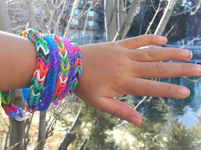 Rainbow Loom: How To Make A Fishtail Bracelet
