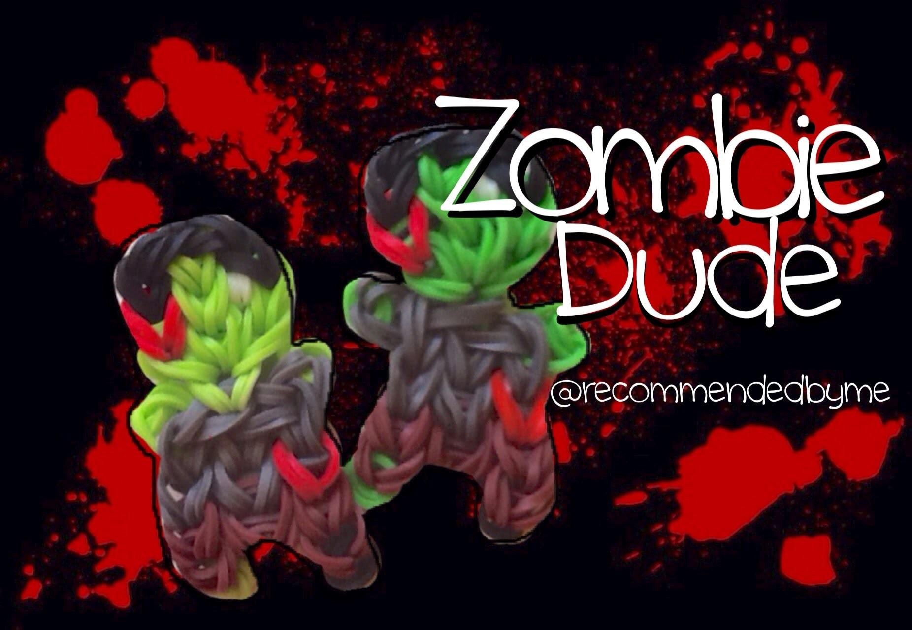 Rainbow loom-Zombie Dude-how to