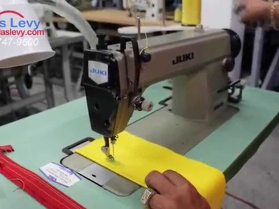 Sewing heavy material on a Juki DDl 5550 - How t keep cool when sewing