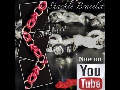 Shackle Bracelet (Hook-only) Tutorial.how to
