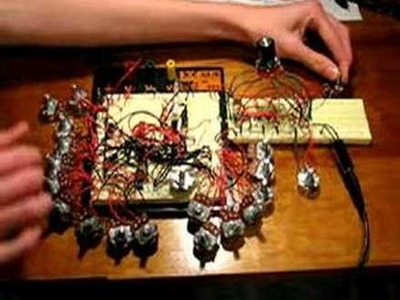 Squarecave DIY synth with analog filters