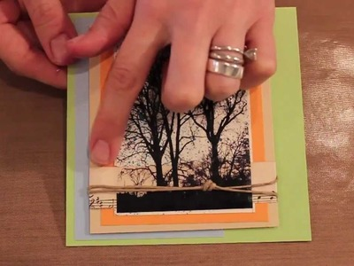 Studio SN : How to Do a Packing Tape Transfer