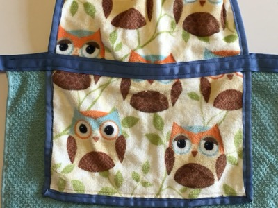 Turn Hand Towels Into a Child's Apron - DIY Crafts - Guidecentral